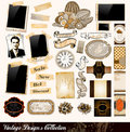 Vintage Elements Collection Royalty Free Stock Photos