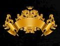 Vintage Emblem Royalty Free Stock Photo