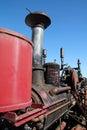 Vintage farm machinery Royalty Free Stock Photo
