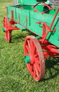 Vintage Farm Wagon Royalty Free Stock Photo