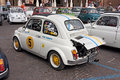 Vintage Fiat 500 Abarth Stock Photos