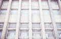 Vintage filter ,Close up window of building,texture background. Royalty Free Stock Photo