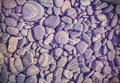 Vintage filtered nature background made of stones Royalty Free Stock Photo