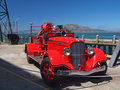 Vintage Fire Engine Royalty Free Stock Photos