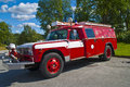 Vintage fire truck Stock Images