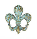 Vintage fleur de lis Royalty Free Stock Photo