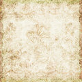 Vintage floral antique background theme Royalty Free Stock Photo