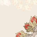 Vintage floral background this is file of eps format Royalty Free Stock Photography