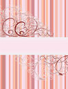 Vintage floral banner Royalty Free Stock Photo