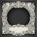 Vintage floral frame detailed illustration of a this illustration is saved in eps with color space in rgb Stock Image