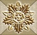 vintage floral motif Royalty Free Stock Photo