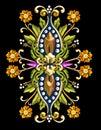 Vintage Floral Motif