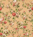 Vintage floral pattern, soft beige background