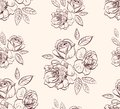 Vintage floral rose  background Stock Images