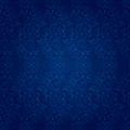 Vintage floral seamless pattern blue vector background Stock Photo