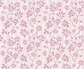 Vintage floral seamless pattern with classic hand drawn roses Royalty Free Stock Images