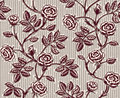 Vintage floral seamless pattern with classic hand drawn roses Stock Photos