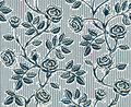 Vintage floral seamless pattern with classic hand drawn roses Stock Images