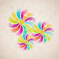 Vintage flower background eps this is editable vector illustration Royalty Free Stock Photo