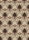 Vintage flower pattern - seamless Stock Photo