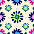 Vintage flower wallpaper Royalty Free Stock Images