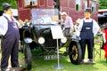 Vintage 1924 Ford Model T tourer.