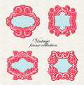 Vintage frame collection Royalty Free Stock Photography
