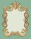 Vintage frame with copy space for text Royalty Free Stock Photo