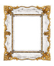 Vintage frame isolated on white background Royalty Free Stock Photos