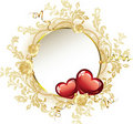 Vintage Frame Valentine's Day Stock Photography