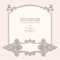 Vintage frame vignette background elegant template Stock Photos