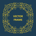 Vintage frame for your text Royalty Free Stock Photo