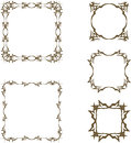 Vintage frames Stock Photo