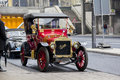 Vintage French car Brasier Royalty Free Stock Photo