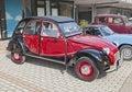 Vintage French car Citroen 2CV Charleston Royalty Free Stock Photo
