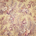 Vintage french floral shabby chic wallaper Royalty Free Stock Photo
