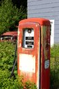 Vintage gas pump Royalty Free Stock Photography