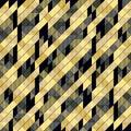 Vintage geometric  disco background Royalty Free Stock Photo