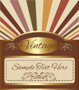 Vintage gold background with space for your text. Royalty Free Stock Photo