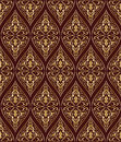 Vintage gold seamless pattern Stock Images