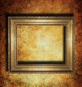 Vintage golden frame Royalty Free Stock Images