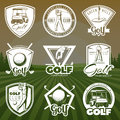 Vintage Golf Club Logos