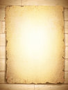 Vintage grunge burnt paper at wooden background Stock Photos