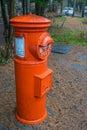 Vintage grunge mailbox