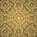 Vintage grunge texture pattern made of geometrical elements Royalty Free Stock Photo