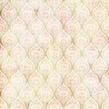 Vintage grungy damask repeating pattern Stock Photography