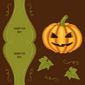 Vintage halloween background Stock Photography