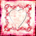 Vintage Heart Royalty Free Stock Photography