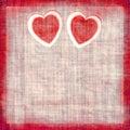 Vintage Hearts Stock Photos