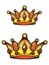 Vintage heraldic crown Royalty Free Stock Photo